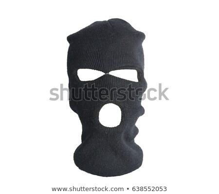 Businessman in black balaclava Stock photo © nomadsoul1
