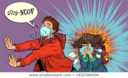 Coronavirus Panic Stock photo © Lightsource