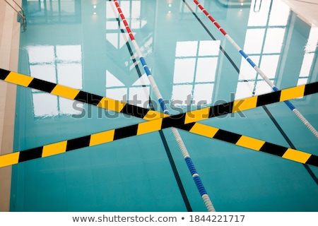 Quarantined public swimming pool closed caused by COVID-19 Stock photo © amok
