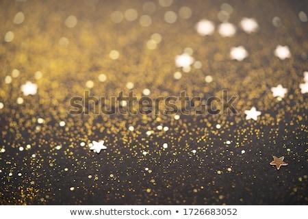 Bella Natale luce abstract glitter bokeh Foto d'archivio © neirfy