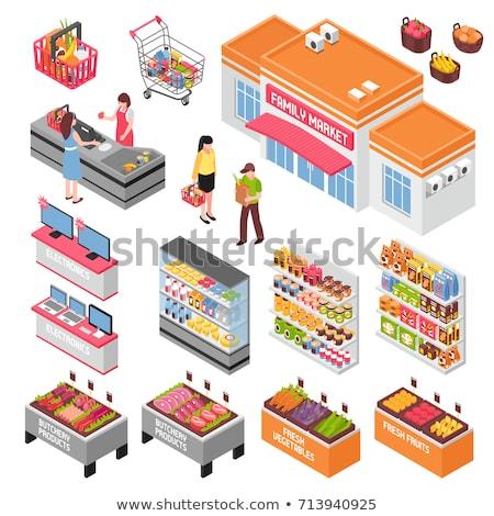 Lácteo beber alimentos vector Foto stock © pikepicture