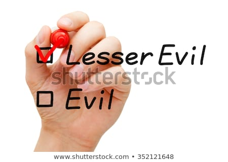 Choose The Lesser Of Two Evils Concept Stock photo © ivelin