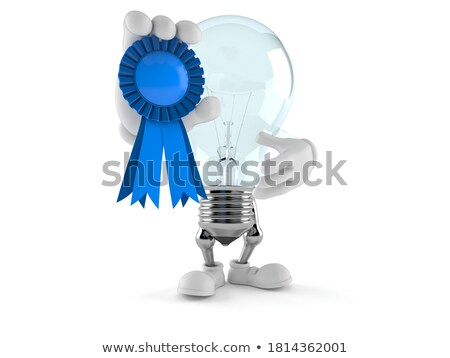blue award ribbon stock photo © creisinger