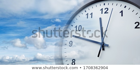 Stock photo: Time For Change Clock