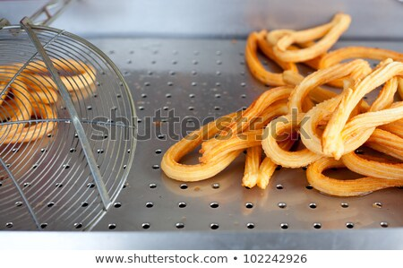 churros fried crullers spanish flour fritters Stock photo © lunamarina