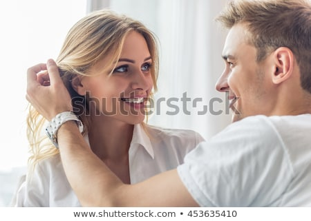 Stock photo: Looking At Each Other With Tenderness