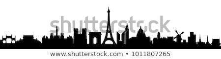 lumbrera · museo · París · 16 · paisaje · pirámide - foto stock © cynoclub