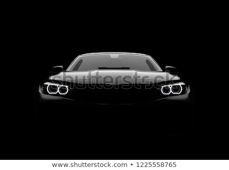 front wheel bumper and light detail stock photo © mtoome