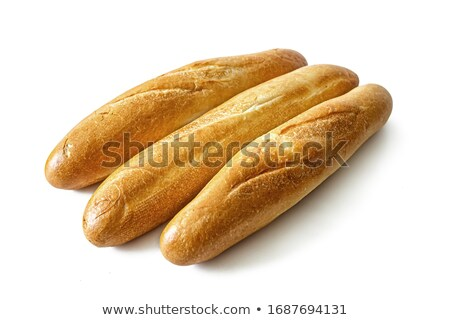 Three Crusty French Baguettes stock photo © klsbear