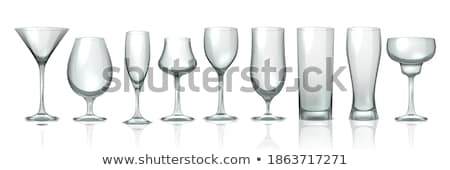 Goblets and Martini Stemware Stock photo © pixelsnap