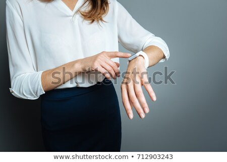 Woman Late For An Appointment Stock photo © stuartmiles