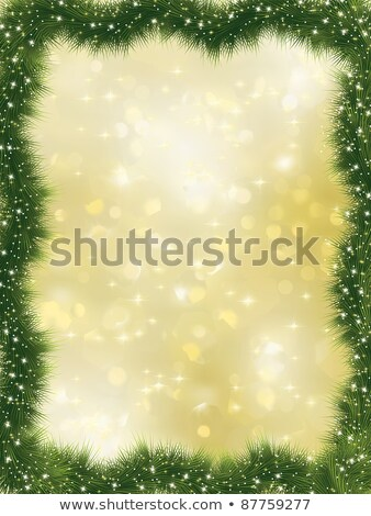 Stok fotoğraf: Elegant Christmas Background With Bokehs Eps 8
