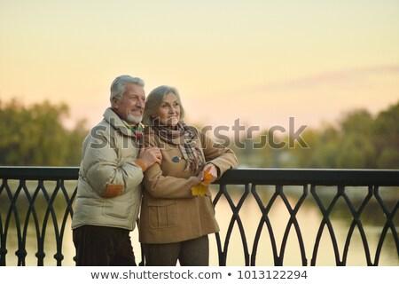 couple near a lake Stock photo © photography33