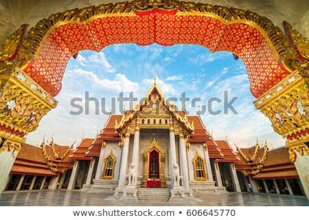 çerçeve · model · tapınak · güzel · dizayn · çizim - stok fotoğraf © witthaya