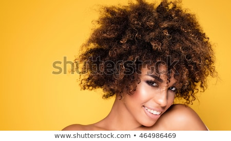 curly hair summer shot Stock photo © carlodapino