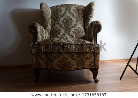Old armchair Stock photo © stevanovicigor