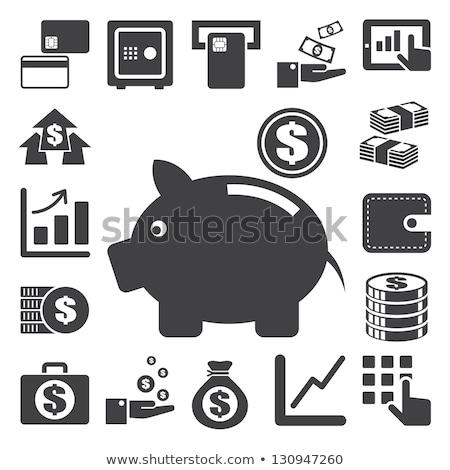 Stockfoto: Steps Into Dollar Sign