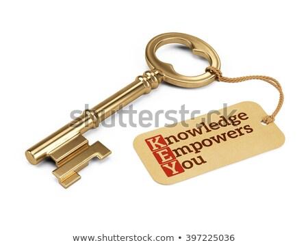 Knowledge Empowers You Acronym Stock photo © ivelin
