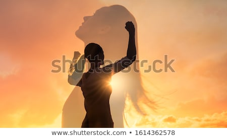 strong determination stock photo © lightsource