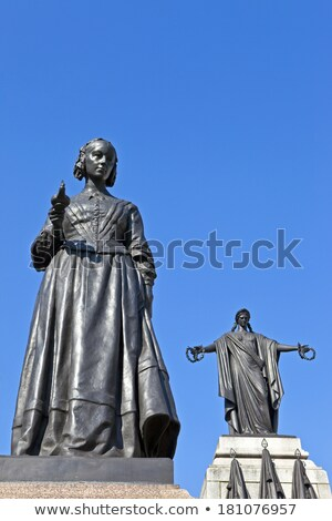 Florence Nightingale Statue Foto d'archivio © chrisdorney