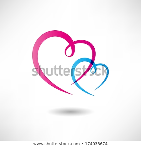 ステンシル アイコン 心臓の形態 ウェブ コンピュータ ビジネス ストックフォト © ildogesto