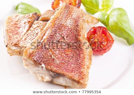 Red Snapper Filet Stock photo © franky242
