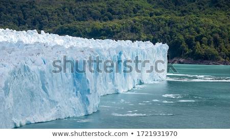 Iceberg ghiacciaio parco Alaska spiaggia Foto d'archivio © snyfer