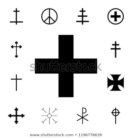 christianity greek cross stock photo © shawlinmohd