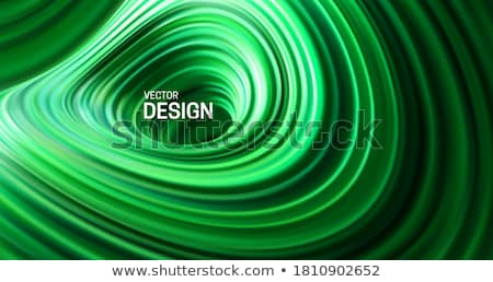 green swirly vortex stock photo © arenacreative