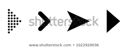 arrow left icon grey stock photo © zeffss