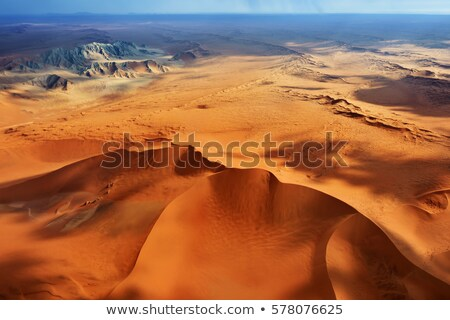 Aerial view of the Namib Desert Stock photo © dirkr