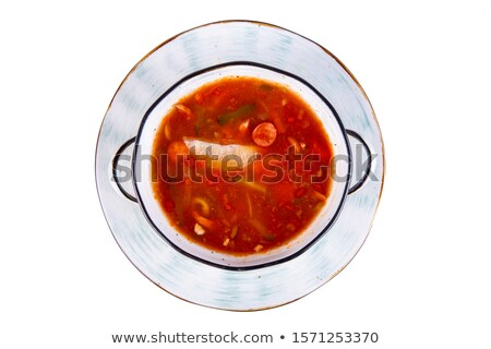 русский · суп · мяса · обед · Pearl · огурца - Сток-фото © yul30