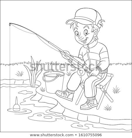 fishing activity stock photo © araga