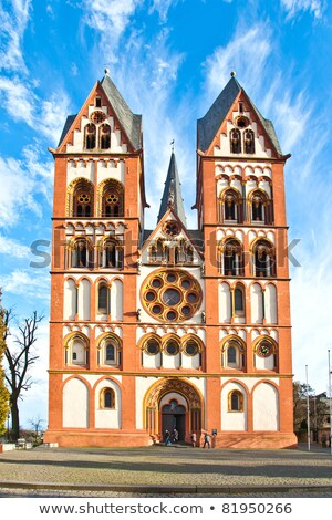 gothic dome in Limburg, Germany in beautiful colors Stock photo © meinzahn
