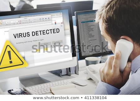 computer virus detection stock photo © stevanovicigor