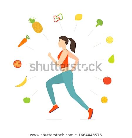 Running Vegetables stock photo © HouseBrasil