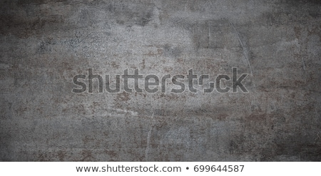 weathered metal plate stock photo © armin_burkhardt