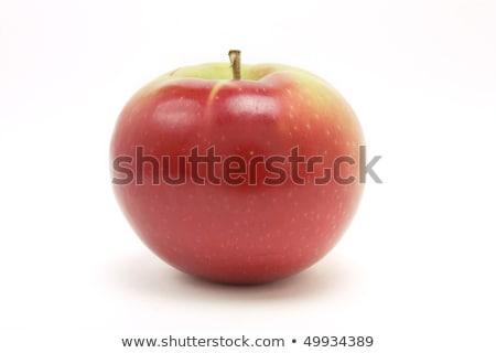 Fresco mac maçã delicioso branco comida Foto stock © AlphaBaby