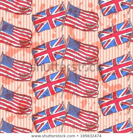 USA · britannico · bandiere · stelle - foto d'archivio © kali
