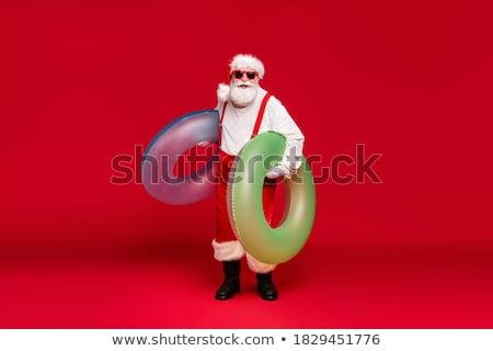 Santa enjoying a rest Stock photo © jeffbanke
