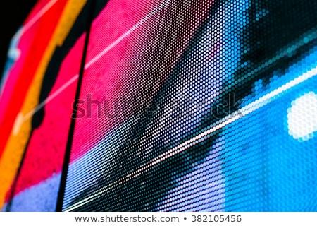 LED display close up Stock photo © stevanovicigor