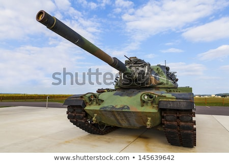 the military tank stock photo © flipfine