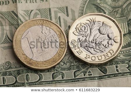Euro dólar libra três saco dinheiro Foto stock © idesign