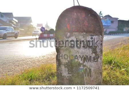 Ancient written language, Lao stock photo © sundaemorning
