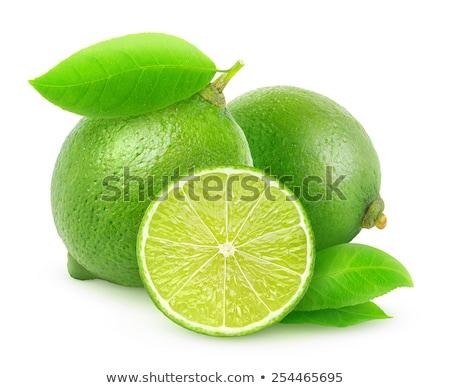 csoport · egész · egy · fél · citrus · fehér - stock fotó © dla4