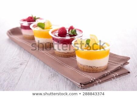 レモン チーズケーキ ティラミス 食品 デザート ストックフォト © M-studio