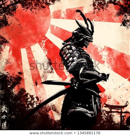 samurai with katana Stock photo © adrenalina