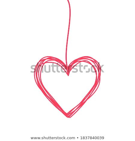 Hanging Hearts Stock photo © smartin69