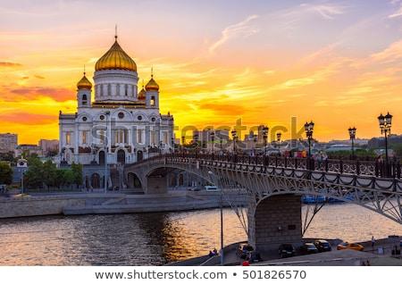 Cristo salvatore cattedrale Mosca notte Russia Foto d'archivio © Mikko