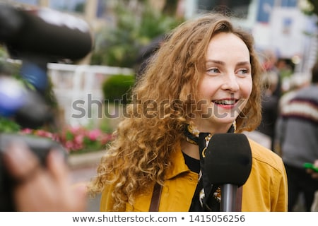 Young Teenage Female Standing on the Street Stock photo © stevanovicigor